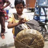 Streetside Snake Charmer