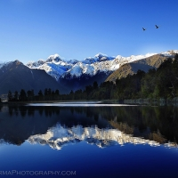 New Zealand Lake Reflection