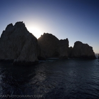 Cabo San Lucas Rocks Silhouette