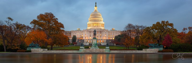 Autumn at the U.S. Capitol