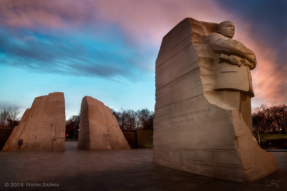 Martin Luther King Memorial Sunrise
