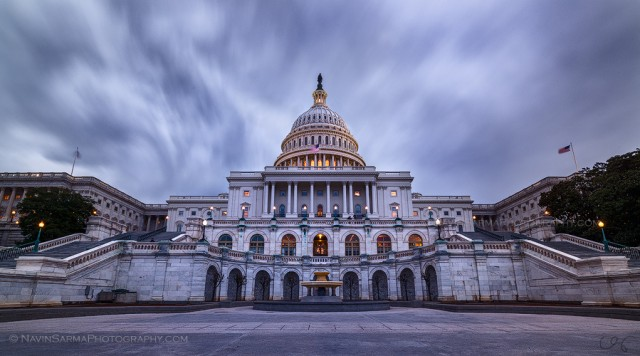 Storm Clouds over the U.S. Capitol