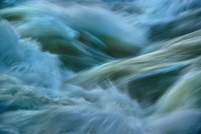 Great Falls Water Abstract