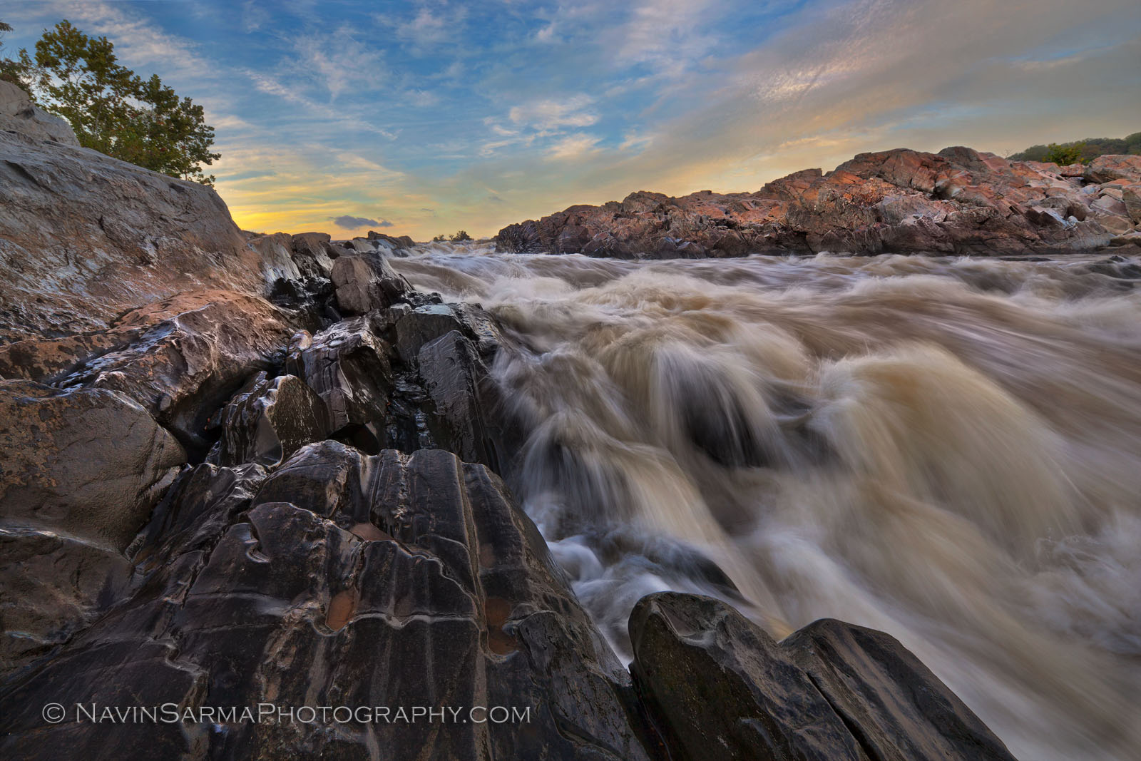 Great Falls Virginia Sunset